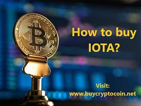 How to buy IOTA?