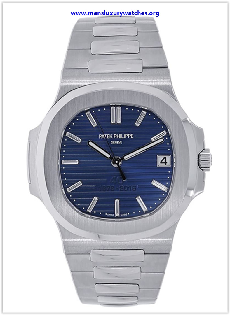Best buy Patek Philippe Nautilus 40mm Platinum 40th Anniversary Watch 5711-1P