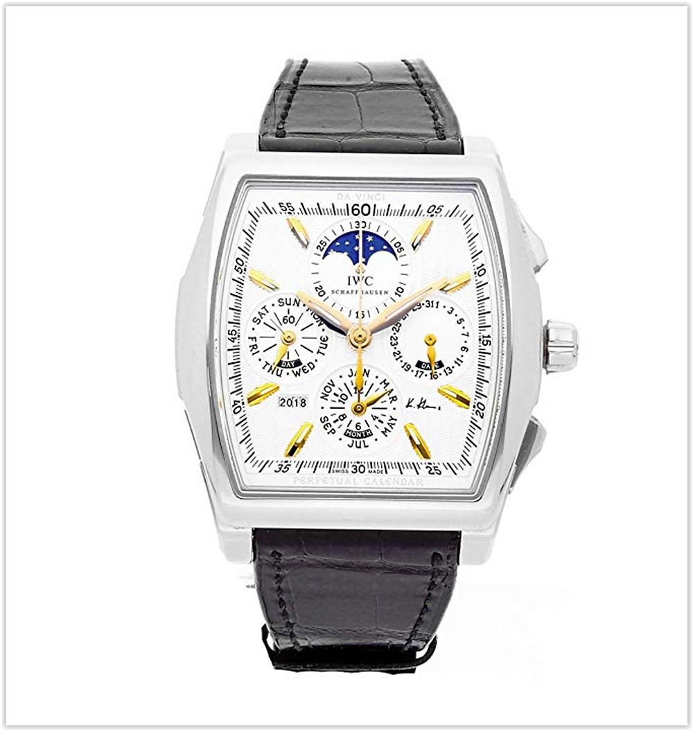 IWC Da Vinci Mechanical Silver Dial Men's Watch best price