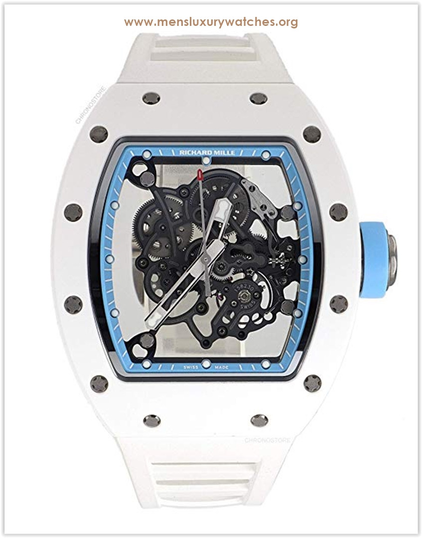 Richard Mille RM 055 Mechanical-Hand-Wind Male Watch Price