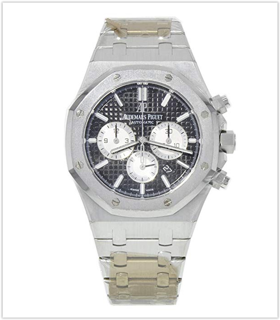 Audemars Piguet AP Royal Oak Chronograph 20th Anniversary Black Dial 41mm