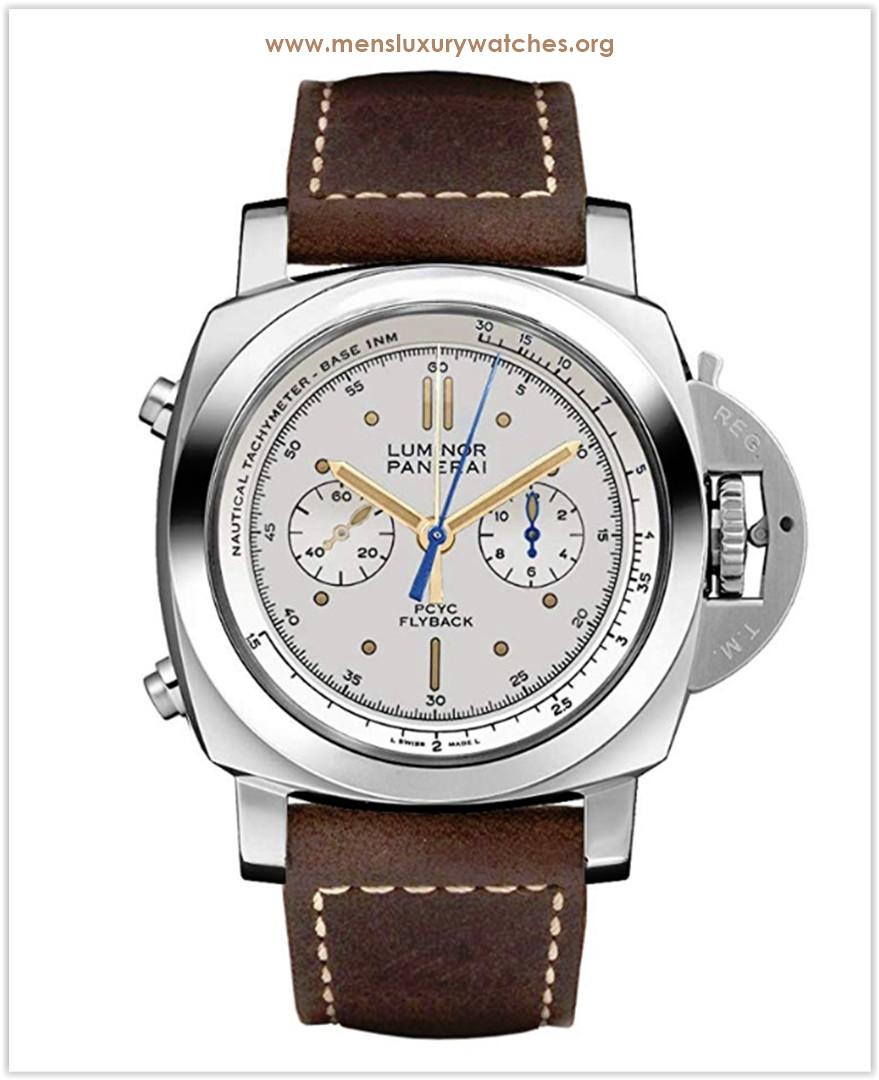 Panerai Luminor 1950 PCYC 3 Days Chrono Flyback Automatic Acciaio 44mm Men's Watch Price