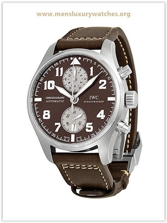 IWC Pilots Antoine De Saint Exupery Chronograph Automatic Men's Watch