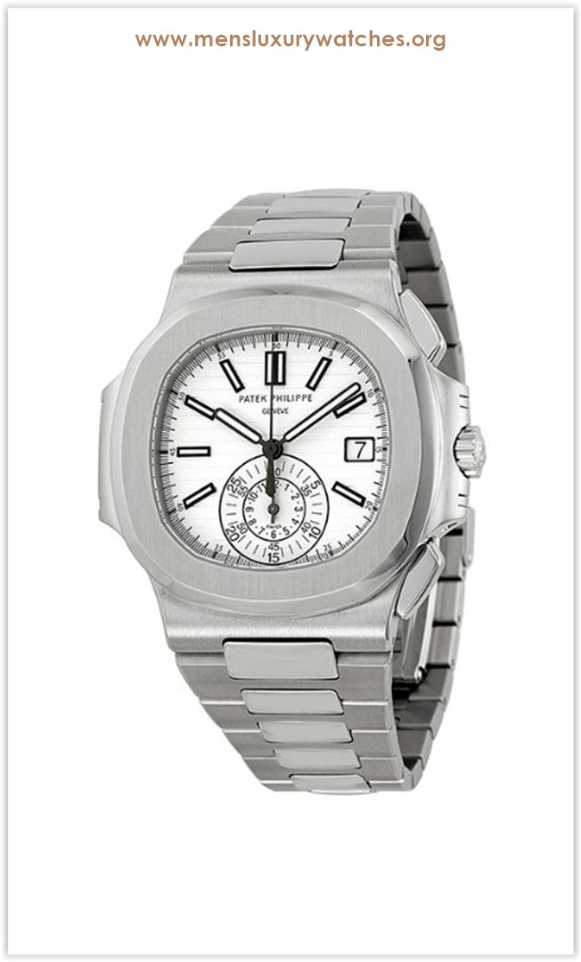 Patek Philippe Nautilus Silver Dial Stainless Steel Men's Watch 5980-1A-019 the best price