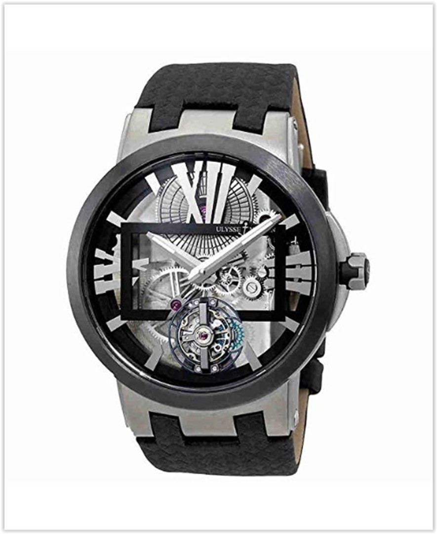 Ulysse Nardin Executive Skeleton Tourbillon Tourbillon Mens Watch