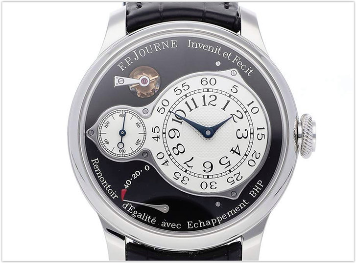 F.P. Journe Chronometre Optimum Mechanical Black Dial Mens Watch Optimum
