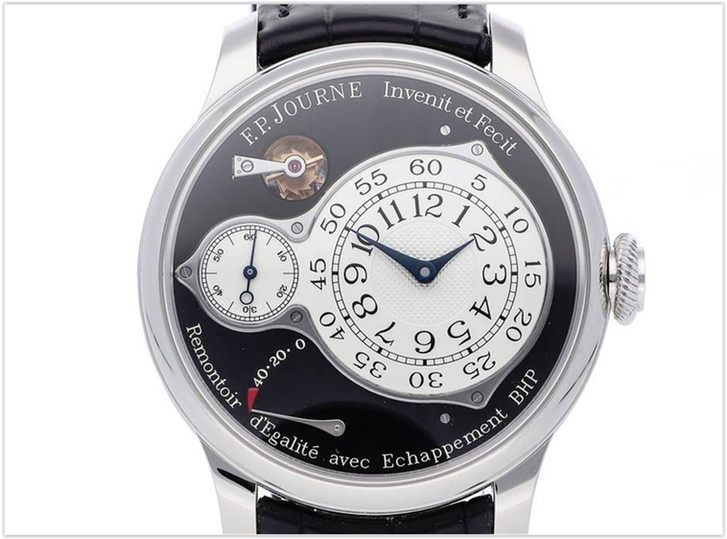F.P. Journe Chronometre Optimum Mechanical Black Dial Mens Watch Optimum