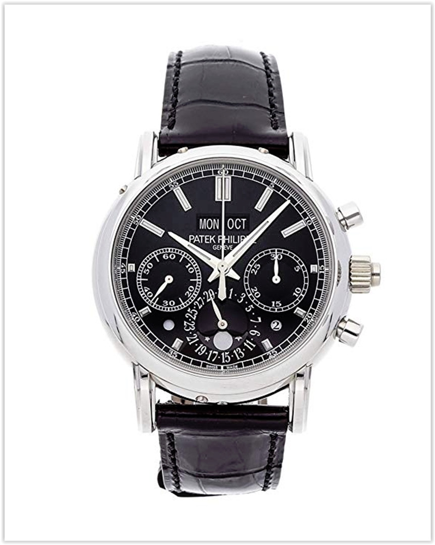 Patek Philippe Grand Complications Mechanical (Hand-Winding) Black Dial Men's Watch best price