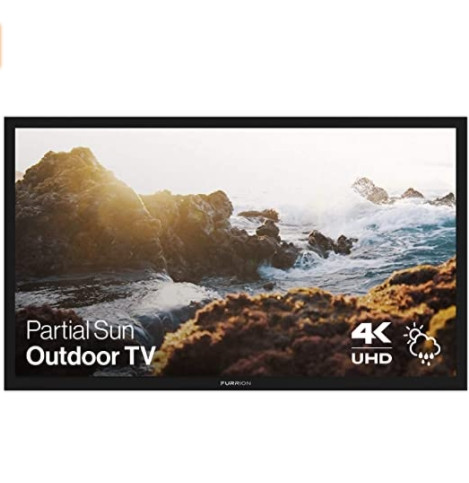 Furrion FDUP49CBR Aurora Partial Sun Weatherproof 4K Outdoor TV