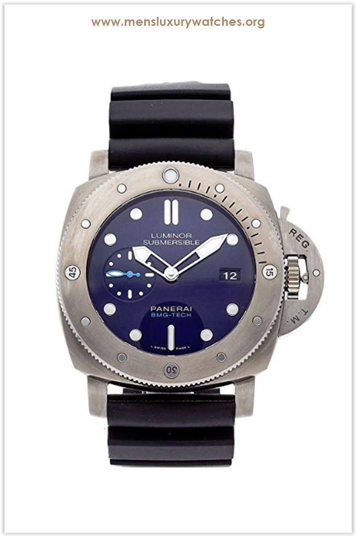 Panerai Luminor Mechanical (Automatic) Blue Dial Men's Watch Price