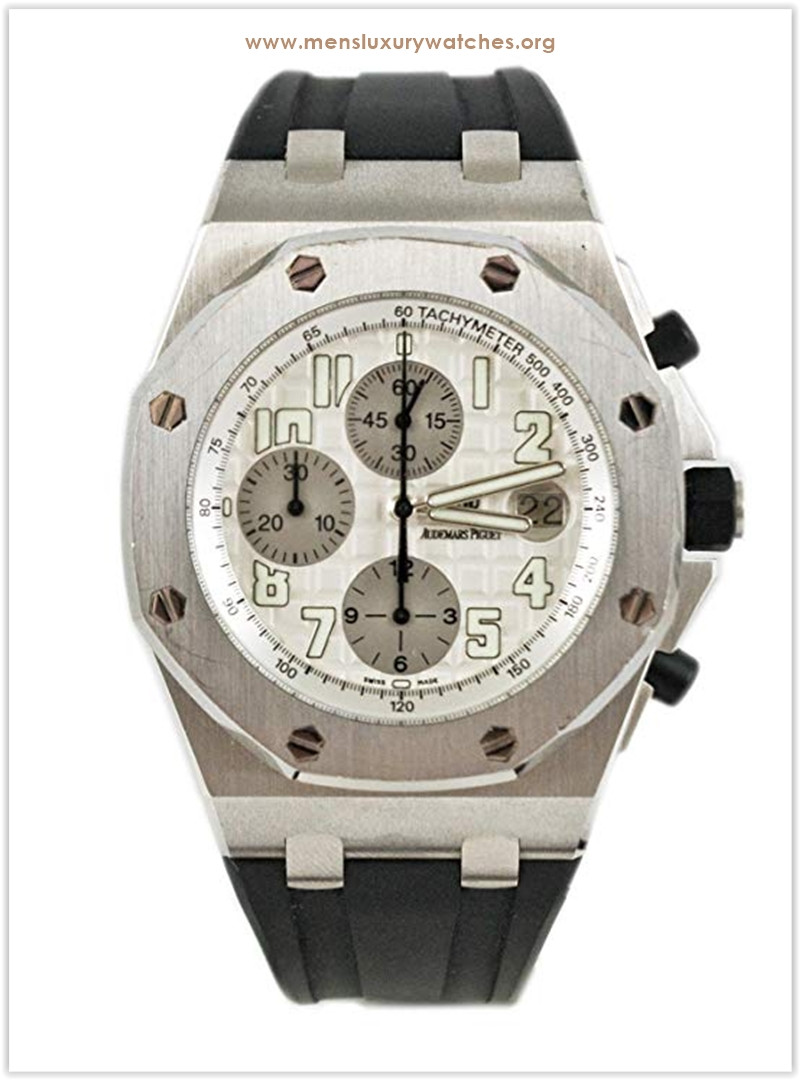 Audemars Piguet Royal Oak stainless-steel bezel and silver dial Men's Watch the best price