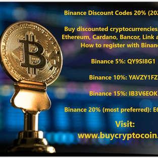 Binance Discount Codes 2020 - 2021