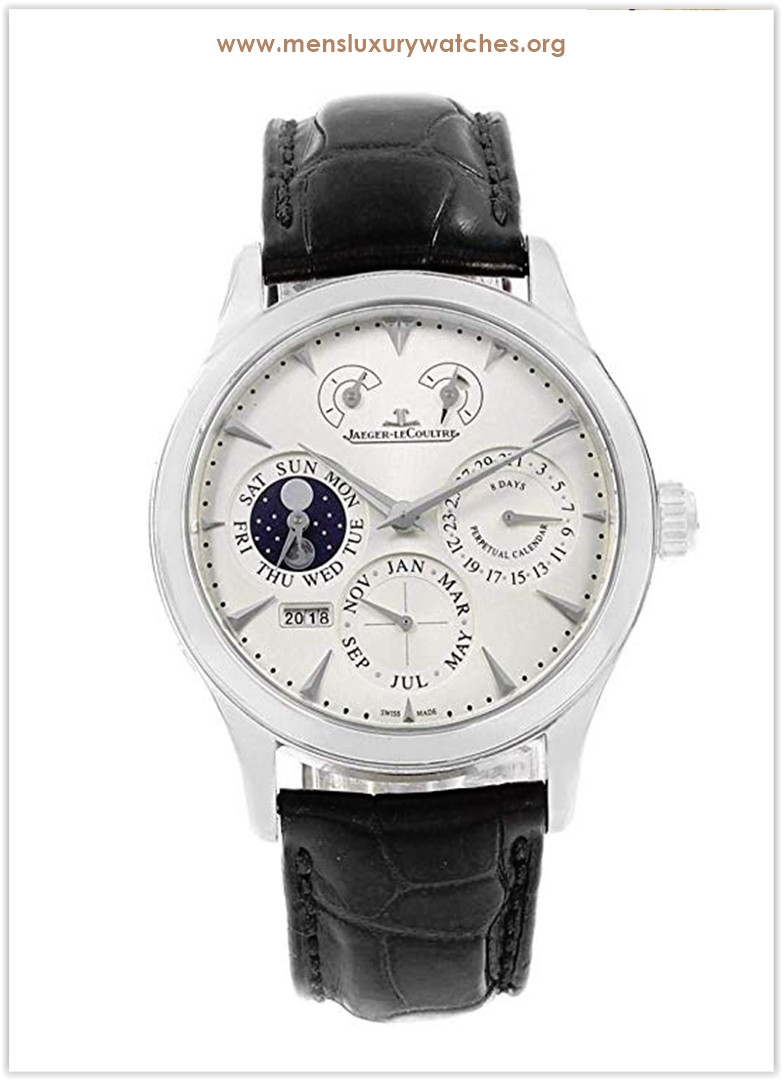 Jaeger-LeCoultre Master Mechanical-Hand-Wind White Men's Watch Price