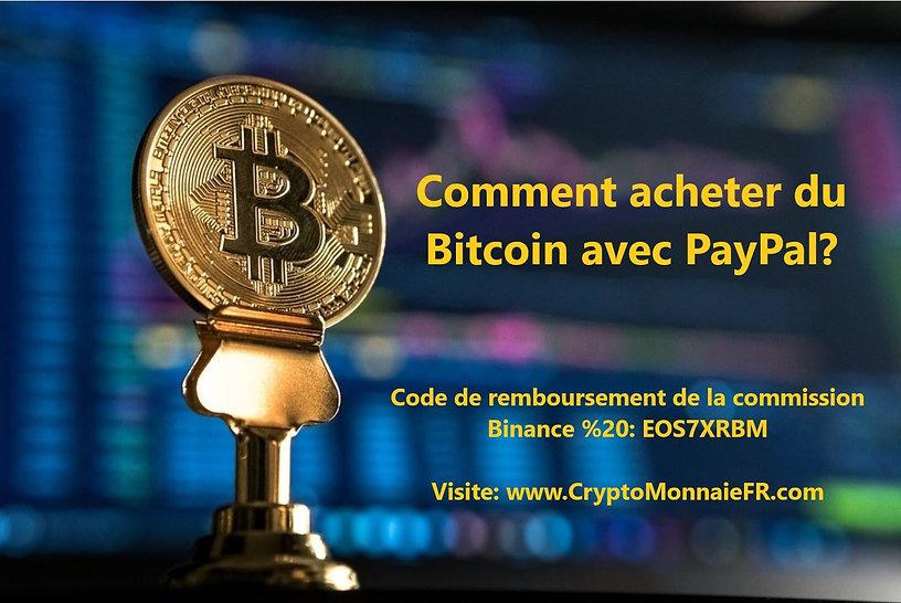 Comment acheter du Bitcoin avec PayPal.j