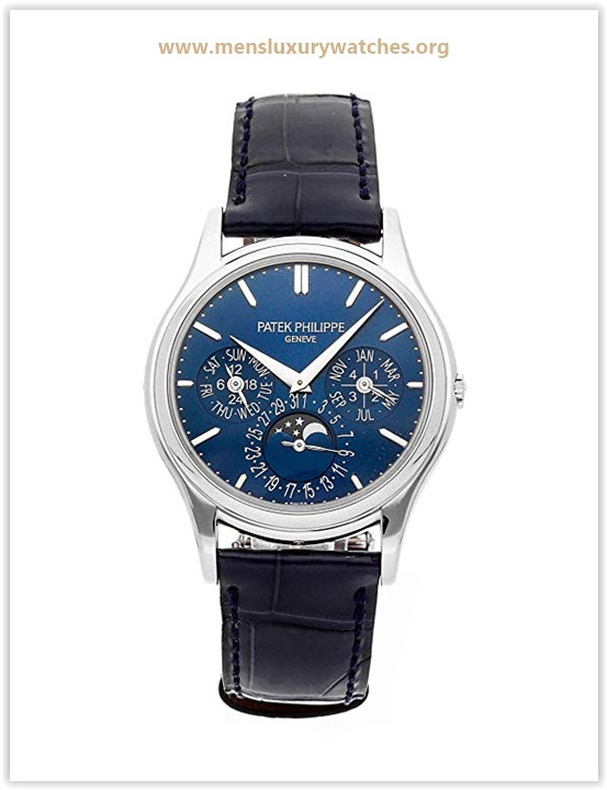 Patek Philippe Grand Complications Mechanical (Automatic) Blue Dial Men's Watch Price May 2019