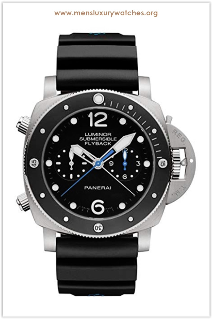 Panerai Swiss Automatic Resin and Gold and Platinum Men's Watch Price