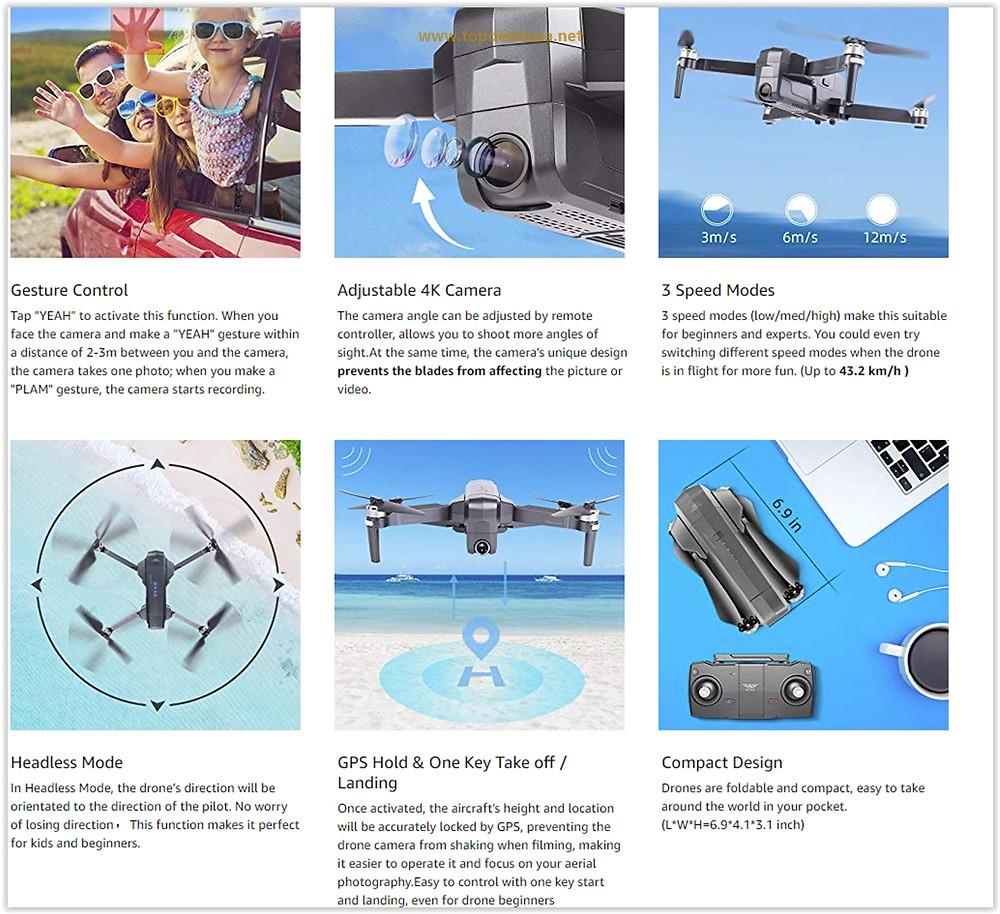 Ruko F11 Pro Drone 4K Quadcopter