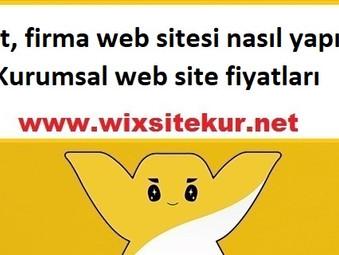 Şirket, firma web sitesi nasıl yapılır? Kurumsal web site fiyatları