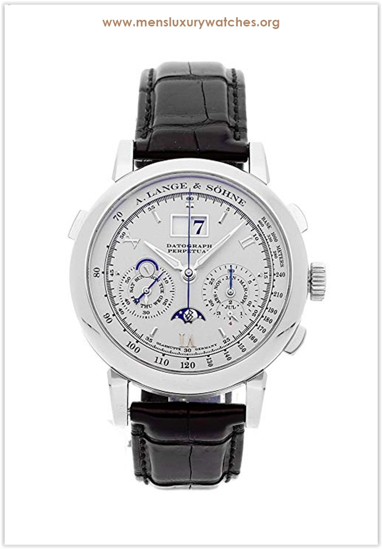 A. Lange & Sohne Datograph Perpetual Calendar Mechanical (Hand-Winding) Silver Dial Men's Watch Price