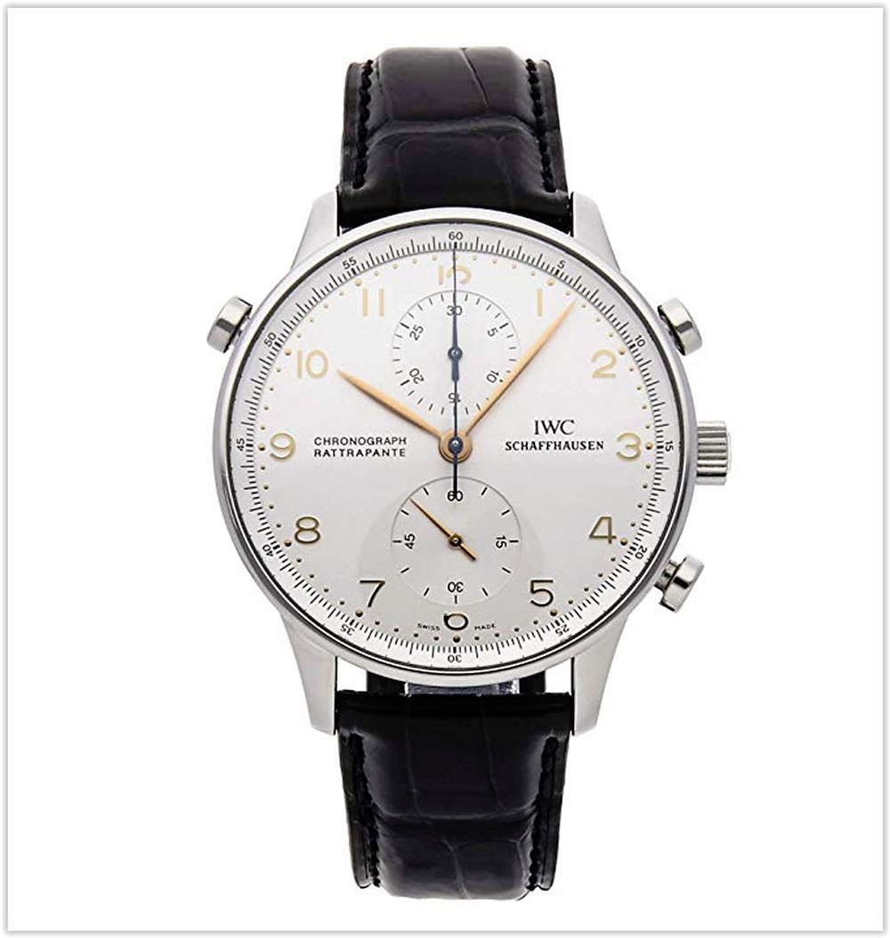 IWC Portuguese Mechanical (Hand-Winding) Silver Dial Men's Watch IW3712-02 best price