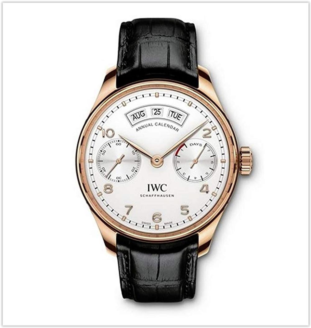 IWC Portugieser Annual Calendar Men's Watch best price