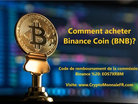 Comment acheter Binance Coin (BNB)?