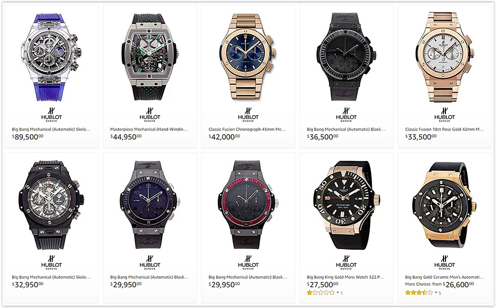 Best Hublot luxury watches for men