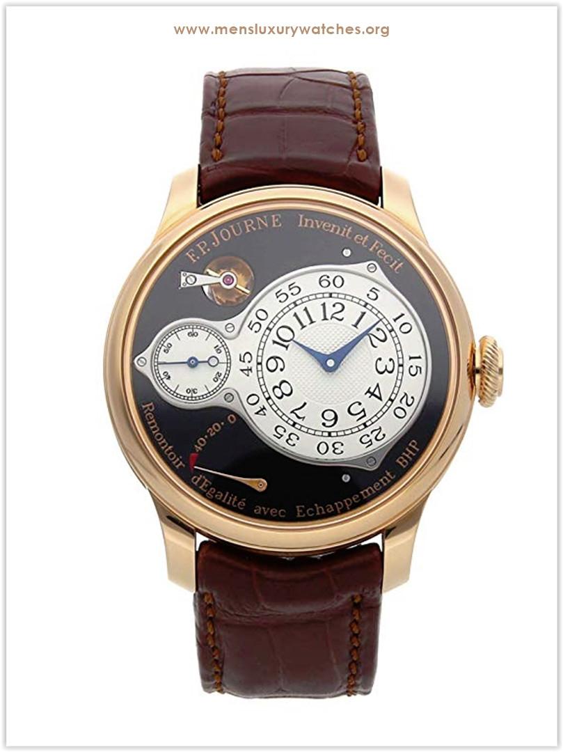 F.P. Journe Chronometre Optimum Mechanical Black Dial Men's Watch