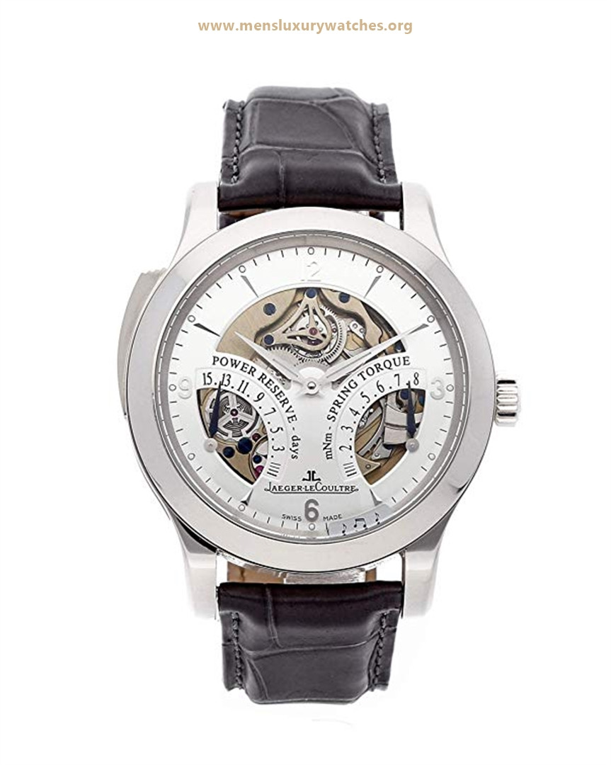 Jaeger-LeCoultre Master Mechanical (Hand-Winding) Silver Dial Men's Watch Price