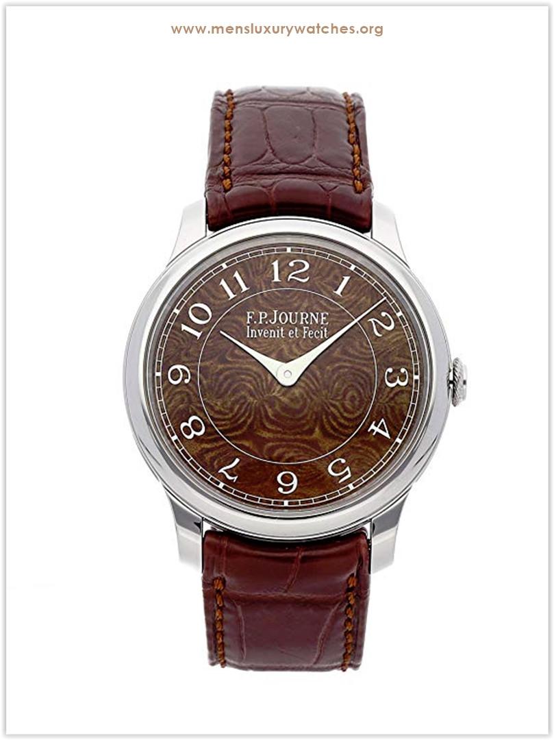 F.P. Journe Chronometre Mechanical Brown Dial Men's Watch Chronometre