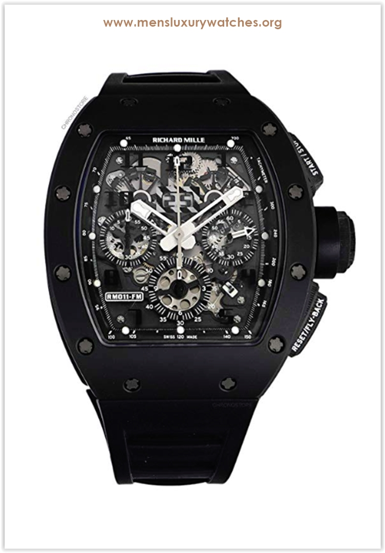 Richard Mille RM 011 Black Phantom PVD C