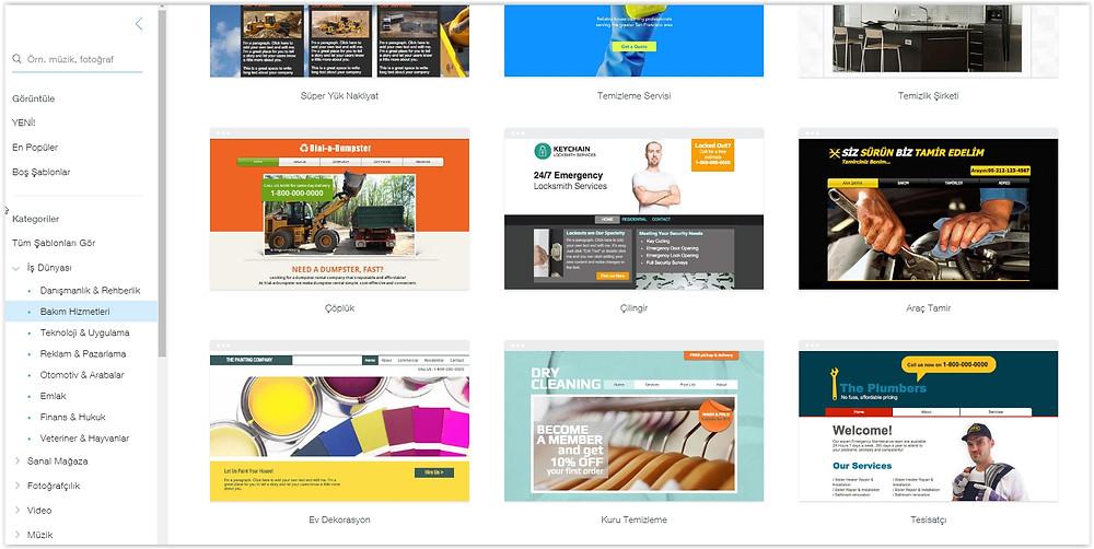 Bakım ve servis hizmetleri için web sitesi nasıl yapılır?