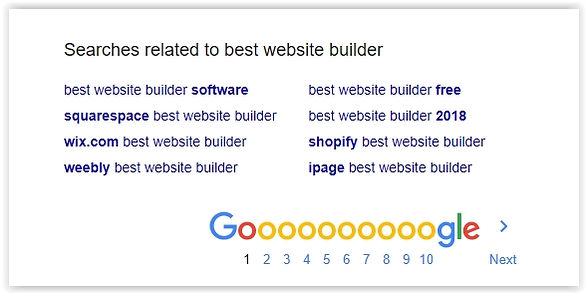 seo firendly webite builder