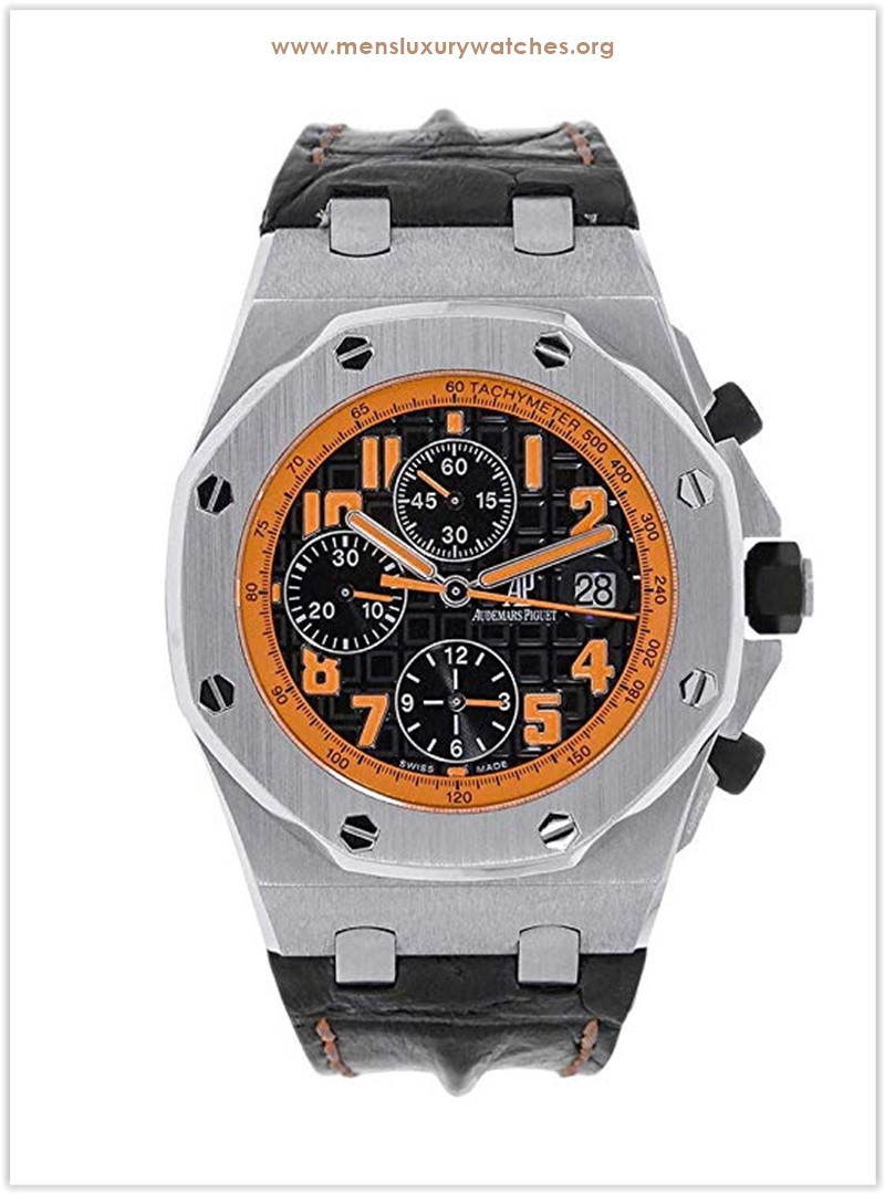 Audemars Piguet Royal Oak Offshore Volcano Chronograph Orange Men's Watch the best price