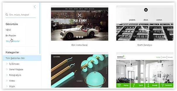 ankara web tasarım bedava website şablonları