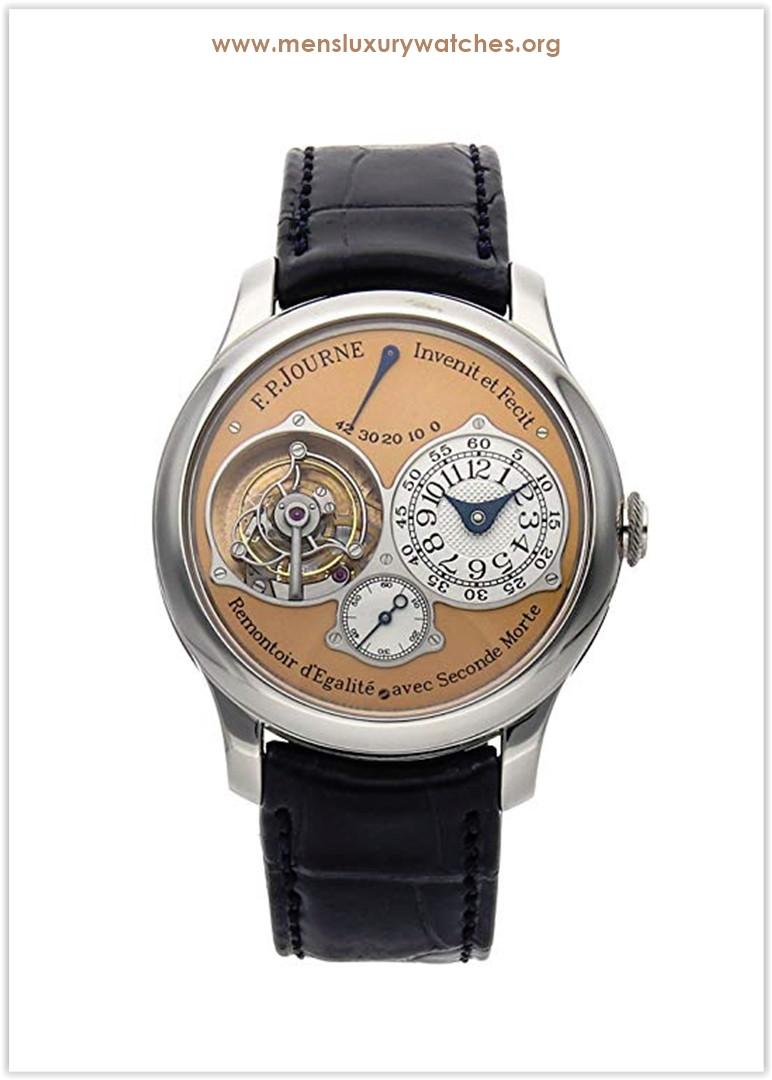 F.P. Journe Souverain Mechanical (Hand-Winding) SalmonPink Dial Men's Watch Tourbillon Price