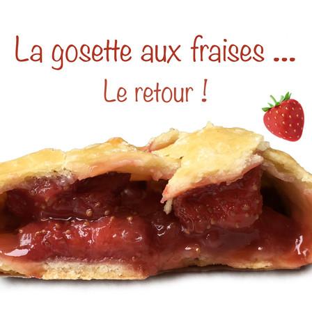 Gosette fraise