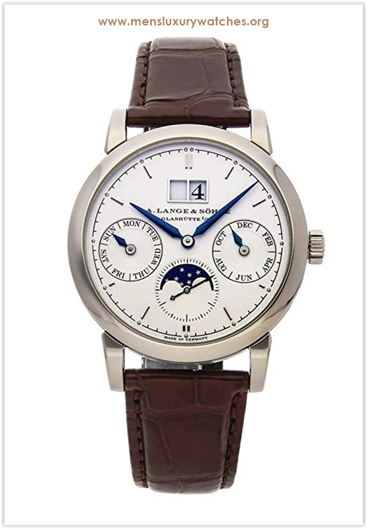 A. Lange & Sohne Saxonia Mechanical (Automatic) Silver Dial Men's Watch Price
