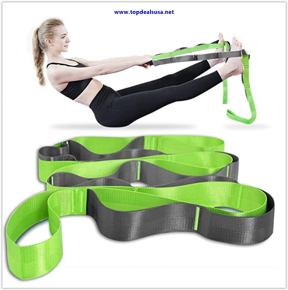 Best buy Onory Yoga Strap Stretch Straps for Physical Therapy with Exercise Booklet & Carry Bag Non-Elastic Multi Loops