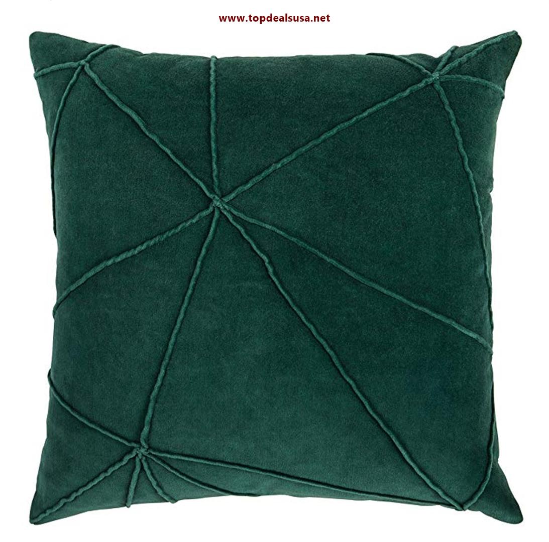 Rivet Modern Velvet Lines Throw Pillow