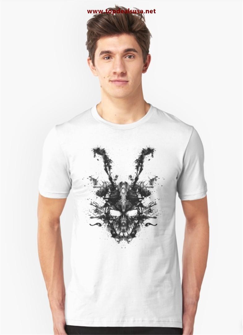 Imaginary Inkblot- Donnie Darko Shirt Slim Fit T-Shirt