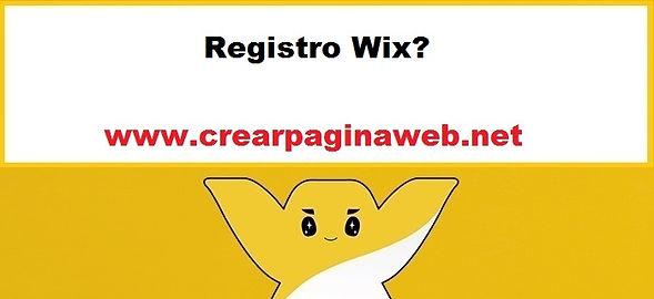 Registro Wix