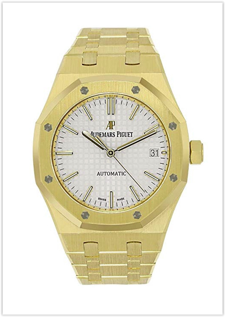 Audemars Piguet Royal Oak 37mm Yellow Gold Watch Price