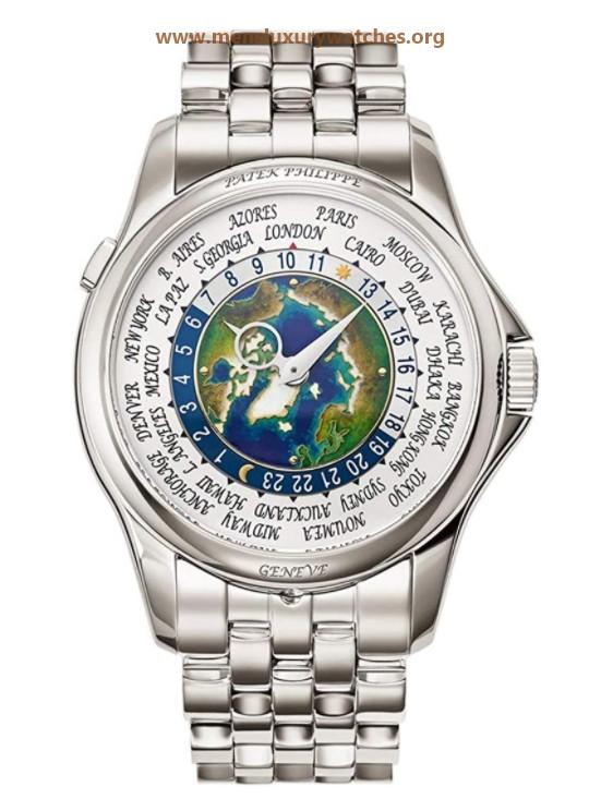 Patek Philippe World Time Men's Watch Model 51311P-001