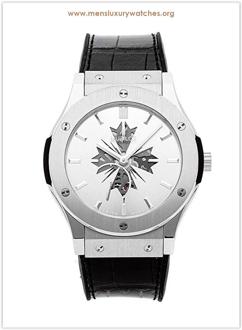 Hublot Classic Fusion Mechanical Silver Dial Men's Watch Price