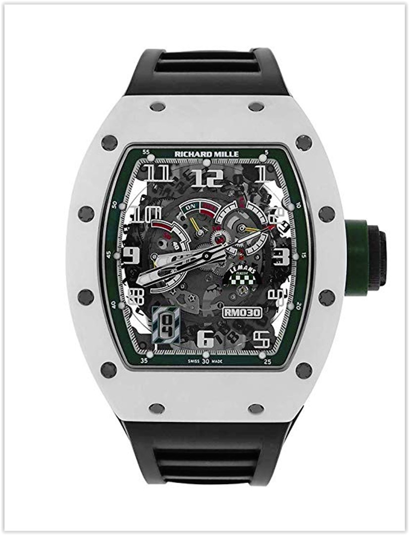 Richard Mille RM030 Le Mans Classic Limited Edition White Ceramic Men's Watch Price