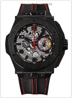 Hublot Ferrari All Black Openwork Dial B
