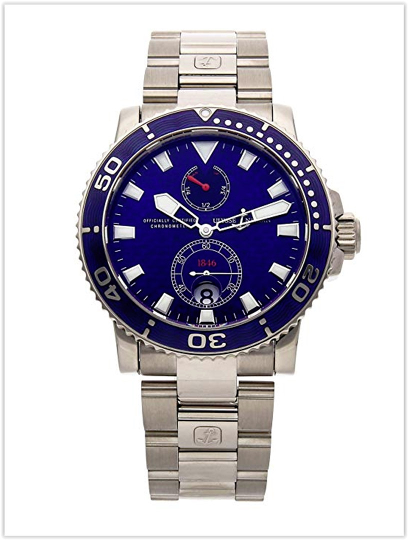 Ulysse Nardin Marine Mechanical Blue Dial Men's Watch Price