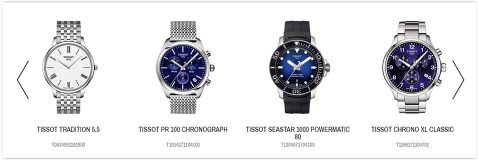 The Tissot Online Store