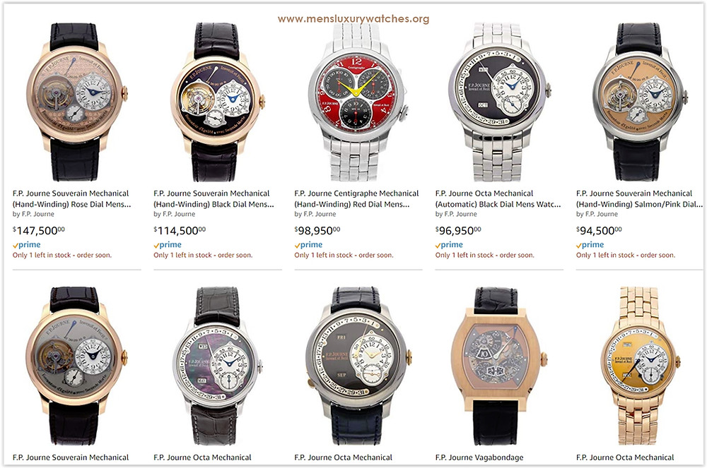F. P Journe Men's Watches Price List